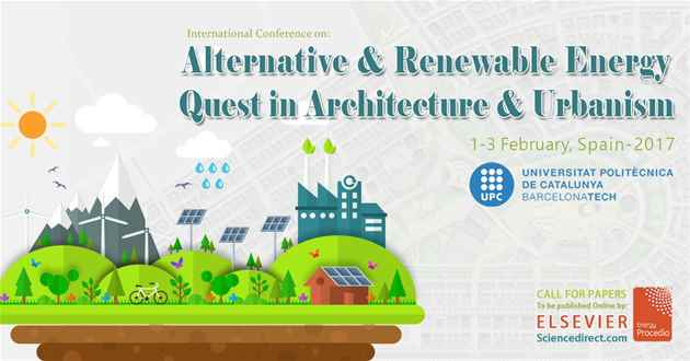 Alternative & Renewable Energy Quest in Architecture and Urbanism 2017